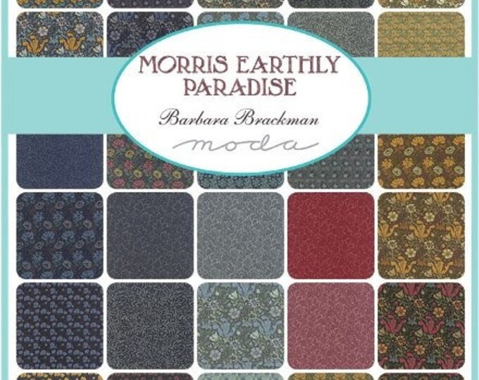 Morris Earthly Paradise - 30 x 1/2yd Bundle