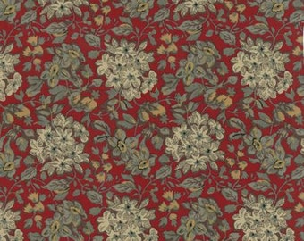 Community Hydrangea Red 4619218 - 1/2yd
