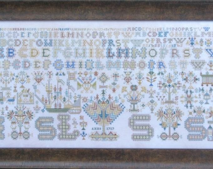 1717 Friesland - Queenstown Sampler Designs - Cross Stitch Chart