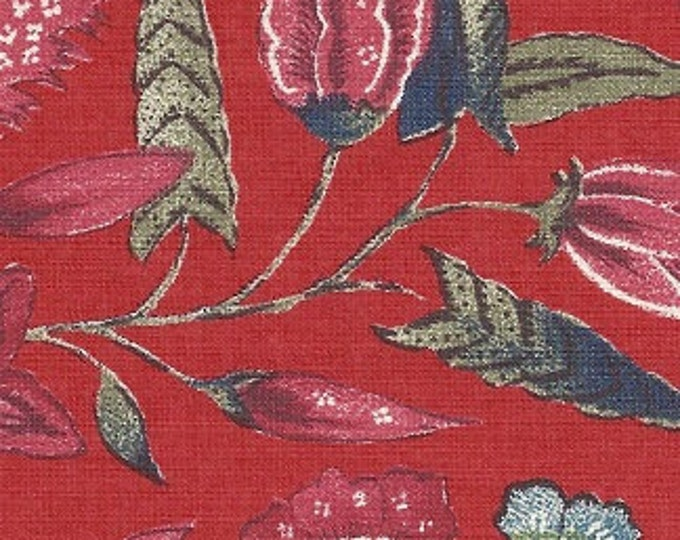 Dutch Chintz - Marken Red FQ