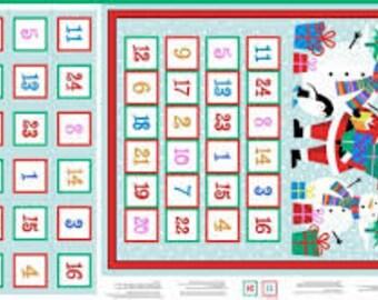 Jolly Santa Advent Calendar 1959C