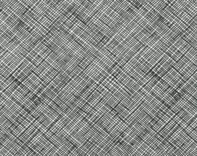 Architextures Black - 1/2yd