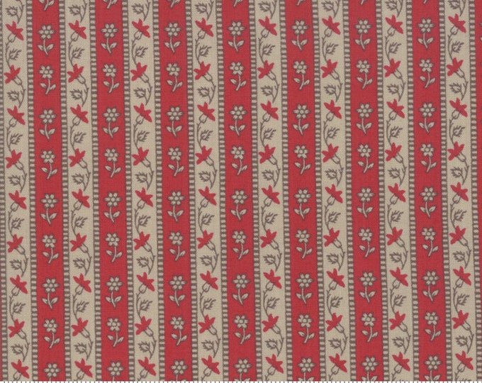 Chafarcani - French General - 1385417 Rouge Roche - 1/2yd