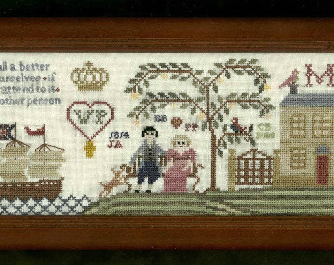 Fanny's Treasures - The Stitching Parlor - Cross Stitch Chart