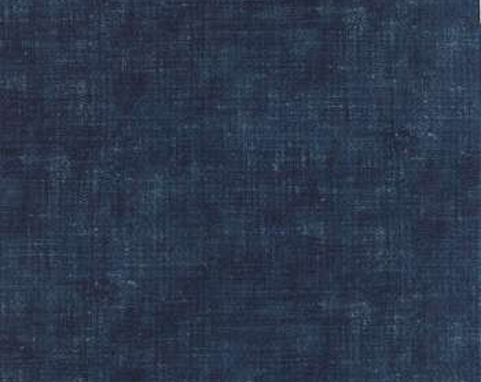 Indigo - Ikat Washed Denim M3290716 - 1/2yd