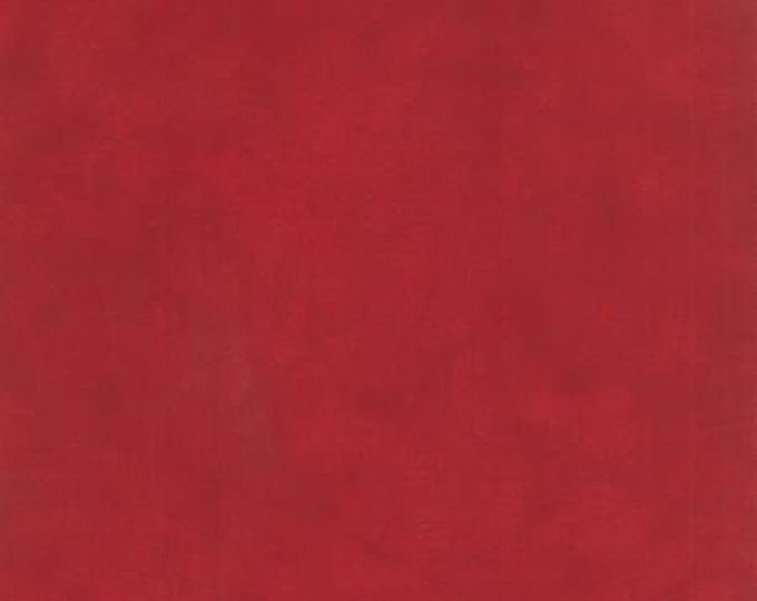 Primitive Muslin Flannel Christmas Red - 1/2yd