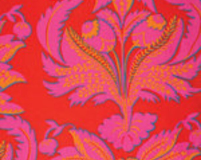 Kaffe Fassett Collective Brocade Red - 1/2yd