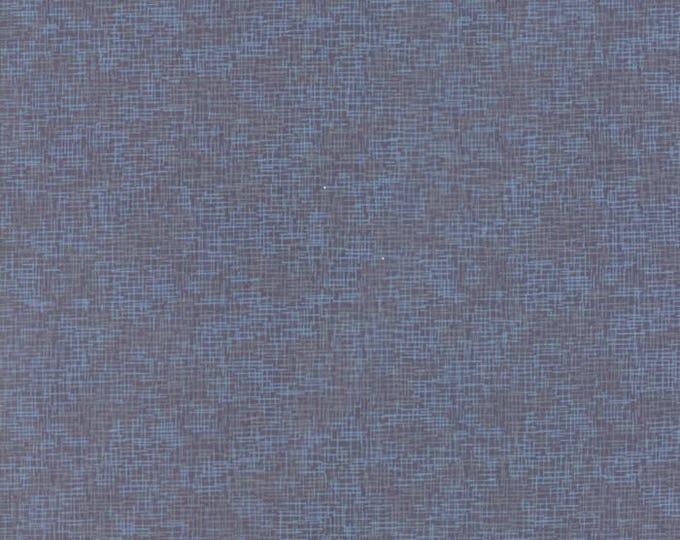 True Blue - Grid Steel 162614 - 1/2 yard