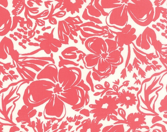 Paradiso by Kate Spain - Rhapsody Coral Pink - 1 yd