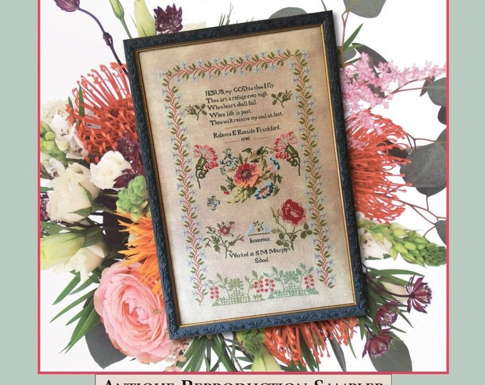 Innocence 1840 - Cross Stitch Antiques - Cross Stitch Chart