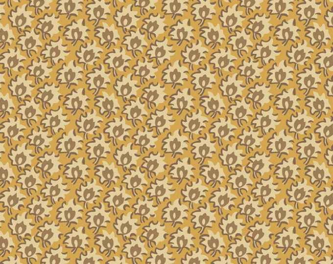 Windermere by Di Ford Hall - Floret Yellow 8927LY - 1/2yd