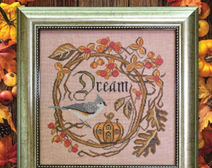 Autumn Dream - Songbird's Garden #11 - Cottage Garden Samplings - Cross Stitch Chart