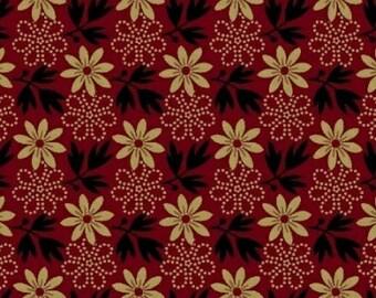 Enduring Legacy - Floral Deep Red