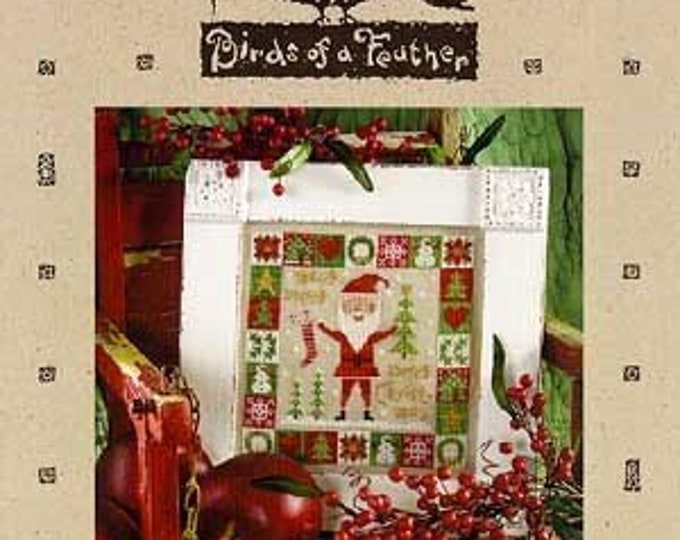 Merry, Merry - Birds of a Feather - Cross Stitch Chart