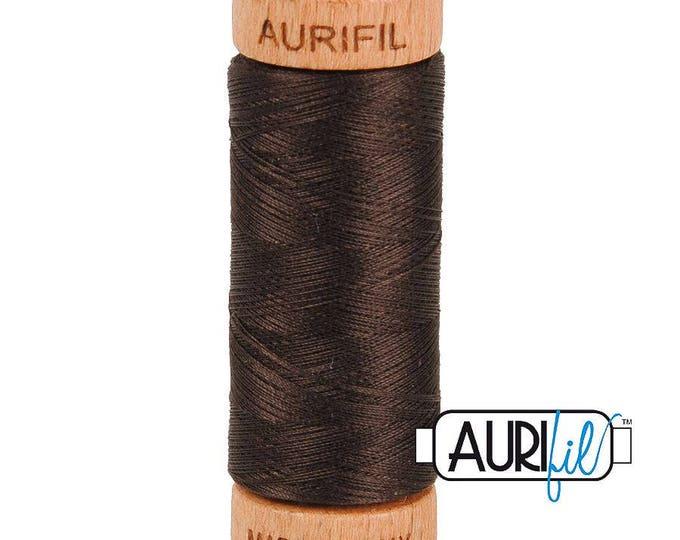Aurifil 80wt - Very Dk Brown 1130