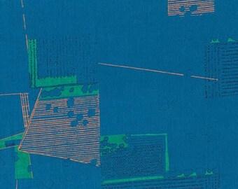 Friedlander Lawn - Blue - 1/2yd