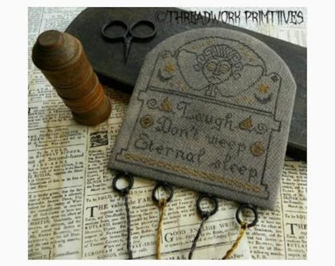 Eternal Sleep Threadkeep - Threadwork Primitives - Cross stitch chart