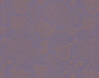 Dutch Chintz - Purple - Ton sur Ton 1/2yd