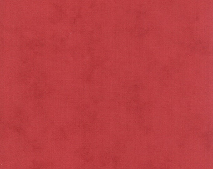 Polka Dots and Paisleys Antique Red - 1/2yd