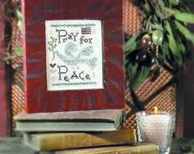 Pray for Peace - Birds of a Feather - Cross Stitch Chart