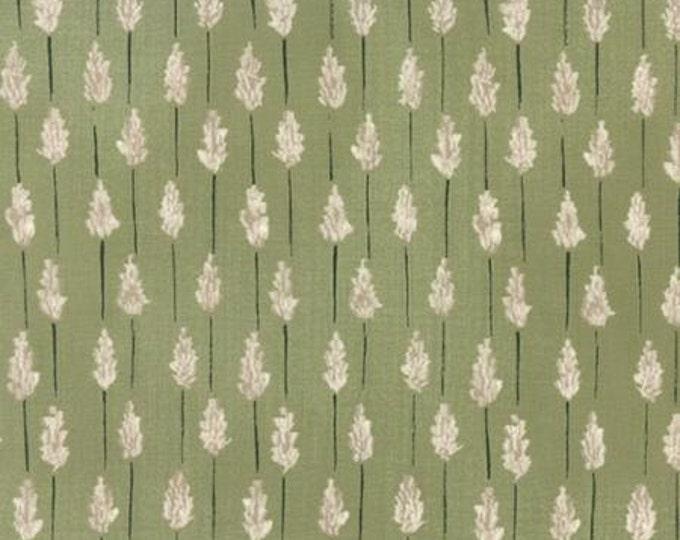 Wordsmith Lavender Leaf Green - 1/2yd