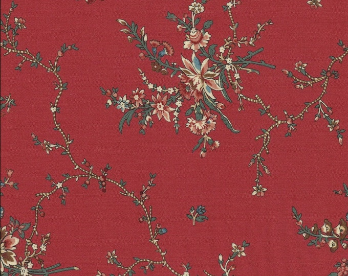 Dutch Heritage Nellore 1027 - Red - 1/2yd