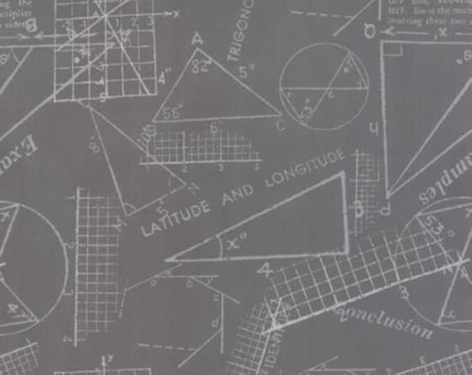 Modern BG Ink Metrics Graphite - 1/2yd