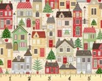 Christmas Village 1977C - 1/2 yd