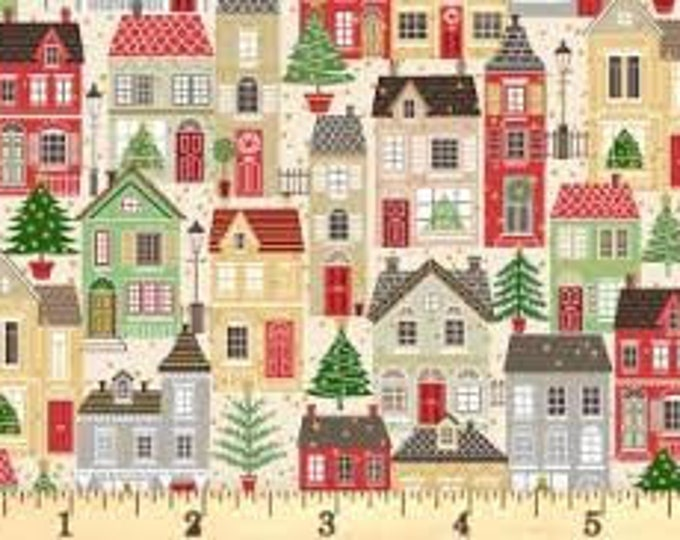 Christmas Village 1977C - 1/2 yd