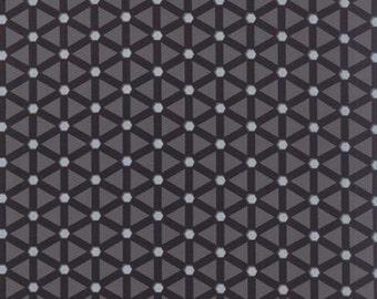 Modern BG Ink Wheels Graphite - 1/2yd