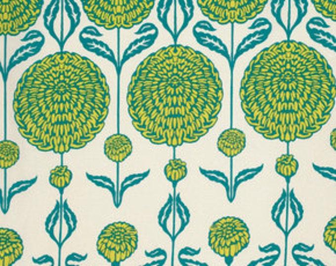 Birch Farm by Joel Dewberry - Chrysanthemum Peacock 1/2yd