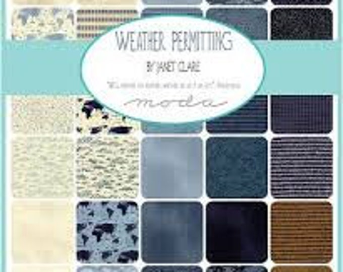 Weather Permitting by Janet Clare - 30 x FQ Bundle