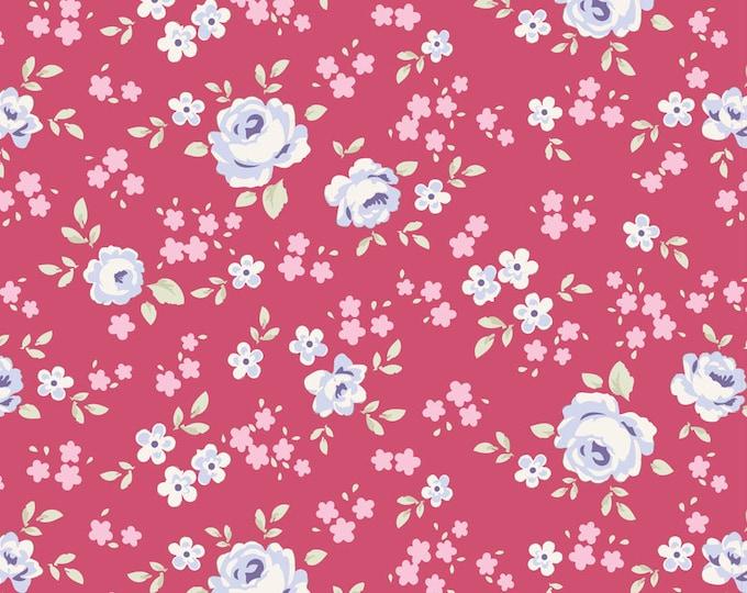 TILDA Old Rose - Eliza Raspberry 100204 - Fat Quarter