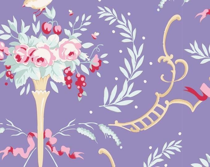TILDA Old Rose - Birdsong Blue 100215 - Fat Quarter