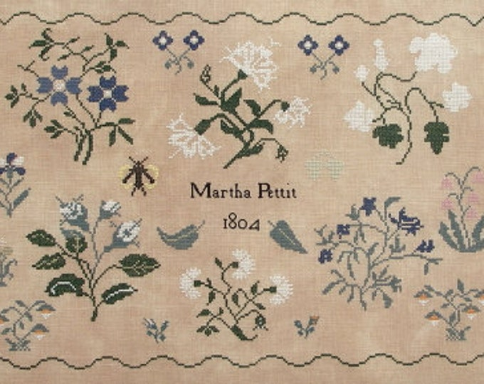 Martha Pettit - Queenstown Sampler Designs - Cross Stitch Chart