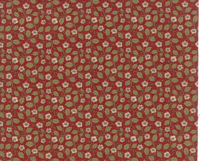 William Morris Christ Church 1872 Garnet 730514  - 1/2yd
