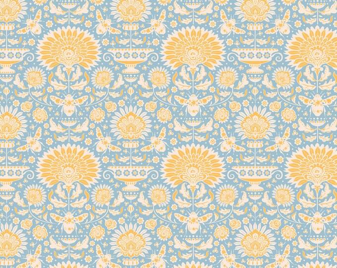 TILDA - Bumblebee Garden Bees Blue 481319