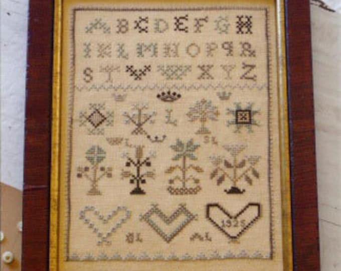 My Heart's Design - Blackbird Designs - Cross stitch chart