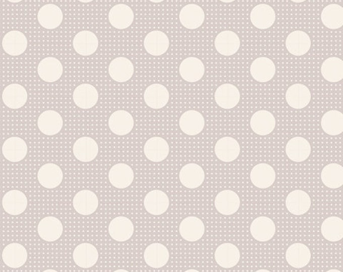 TILDA Medium Dots Light Grey 130008