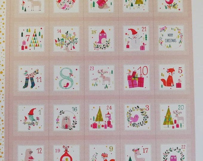 Joli Noel Advent Calendar 1463 - 1/2yd