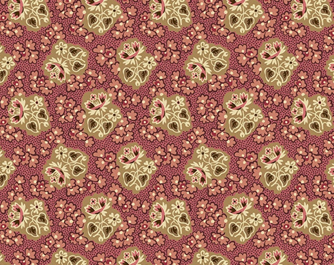 Windermere by Di Ford Hall - Corsage Rose 8922E  - 1/2yd
