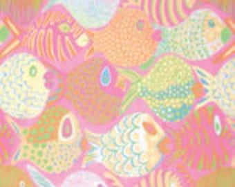Kaffe Fassett Collective Shoal Pink - 1/2yd