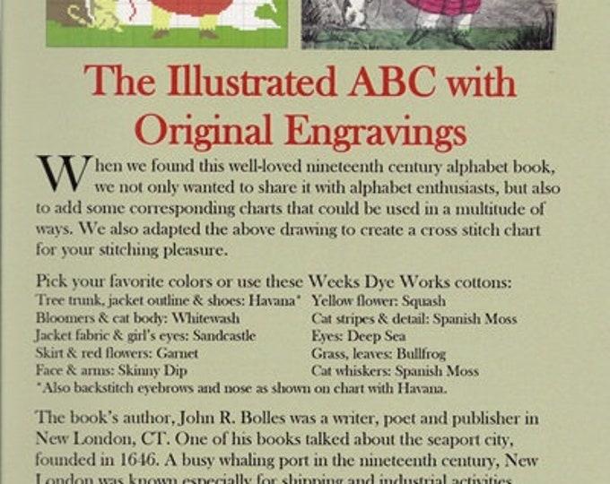 An Illustrated ABC - NeedleWorkPress - Cross Stitch Chart