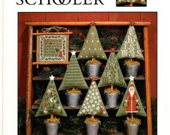 Christmas Trees - Prairie Schooler - Cross Stitch Chart