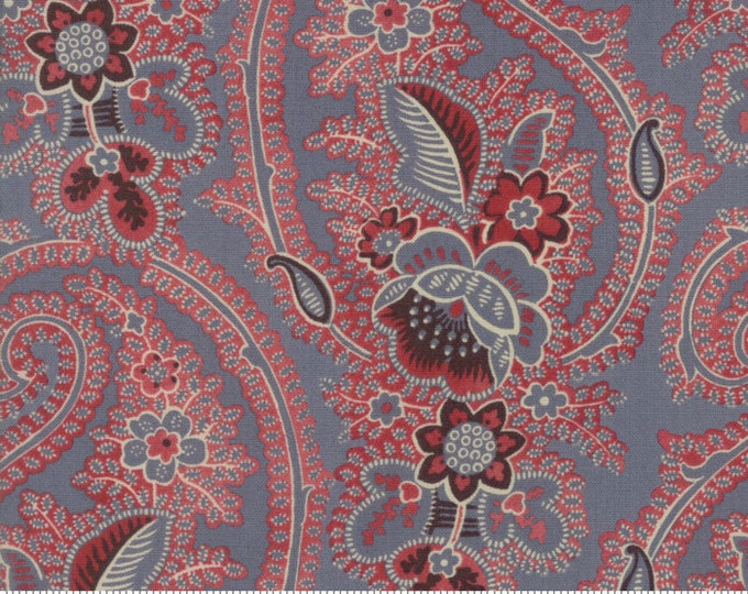 Pondicherry - Indian Blue 1378117 - 1/2yd