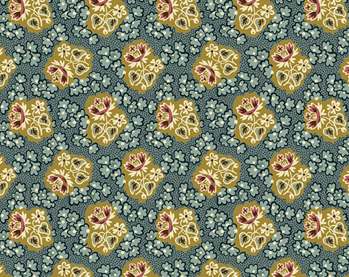 Windermere by Di Ford Hall - Corsage Teal 8922LT - 1/2yd