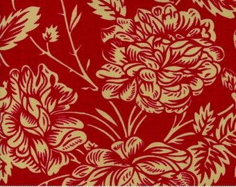 La VIe en Rouge - Je t'Aime Red 1382111 - 1/2yd