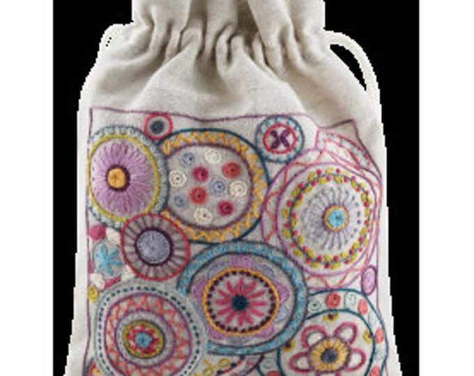 Mandala Pouch - Embroidery Kit - Une Chat dans l'Aiguille