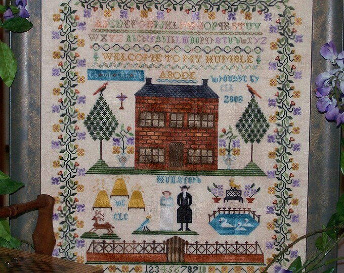 Mr Collins Humble Abode - The Stitching Parlor - Cross Stitch Chart