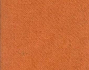 Moda 100% Wool Ochre 5481044 - 1/2 yd x 54 inches